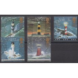 Great Britain - 1998 - Nb 2031/2035 - Lighthouses