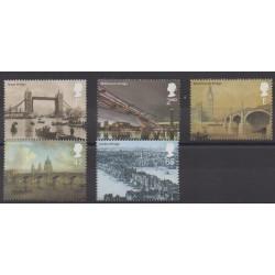 Grande-Bretagne - 2002 - No 2363/2367 - Ponts