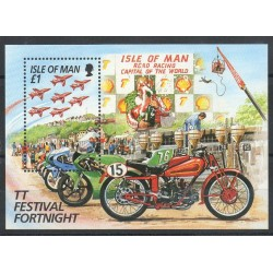 Man (Ile de) - 1996- No BF 28 - Motos