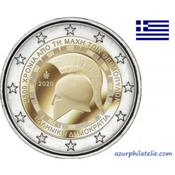 2 euro commémorative - Greece - 2020 - 2.500 years since the Battle of Thermopylae - UNC