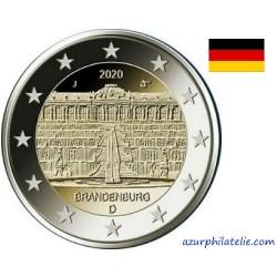 2 euro commémorative - Allemagne - 2020 - Brandebourg - UNC