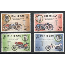 Man (Isle of) - 1975- Nb 51/54 - Motorcycles
