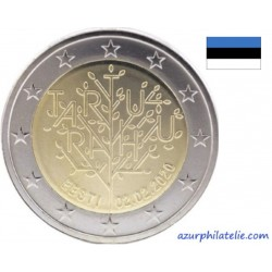 2 euro commémorative - Estonia - 2020 - The centenary of the Tartu Peace Treaty - UNC