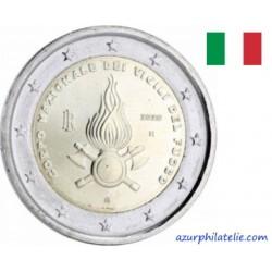 2 euro commémorative - Italy - 2020 - The 80th Anniversary of Foundation of Corpo Nazionale dei Vigili del Fuoco - UNC