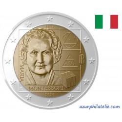 2 euro commémorative - Italy - 2020 - 150th anniversary of the birth of Maria Montessori - UNC
