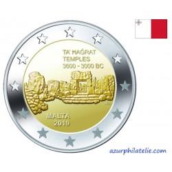 2 euro commémorative - Malta - 2020 - Pre-historic temples of Skorba - UNC