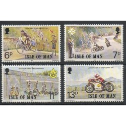 Man (Isle of) - 1977- Nb 90/93 - Motorcycles