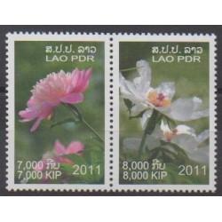Laos - 2011 - No 1786/1787 - Fleurs