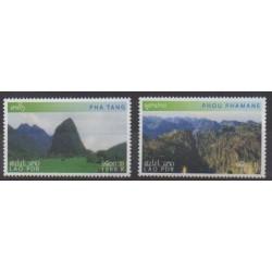 Laos - 2002 - No 1451/1452 - Sites