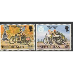 Man (Ile de) - 1973- No 22/23 - Motos