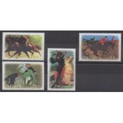 Gambia - 2000 - Nb 3385X/3385AA - Horses