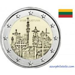 2 euro commémorative - Lituanie - 2020 - Colline des Croix - UNC