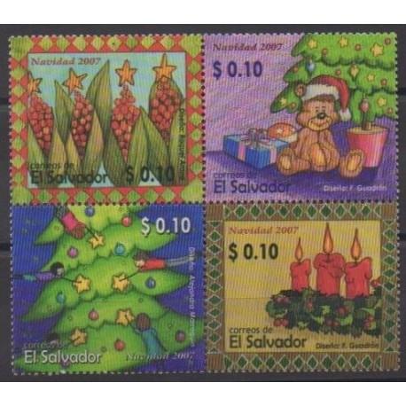 Salvador - 2007 - No 1699/1702 - Noël