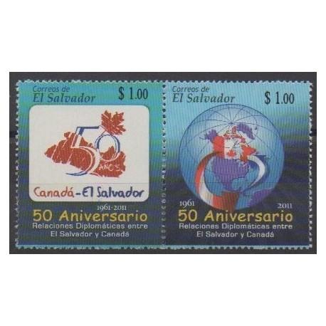 Salvador - 2011 - No 1824/1825 - Histoire