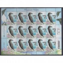 France - Feuillets de France - 2021 - Nb F10 - Pingouin Torda - Birds