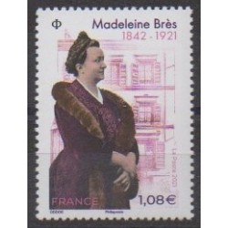 France - Poste - 2021 - No 5463 - Célébrités