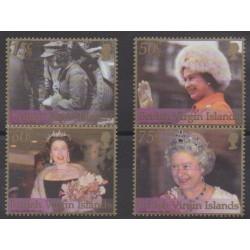 Vierges (Iles) - 2002 - No 951/954 - Royauté - Principauté
