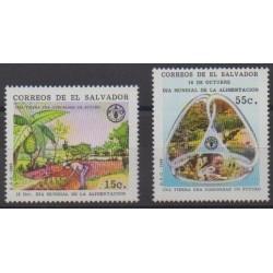 Salvador - 1989 - Nb 1065/1066