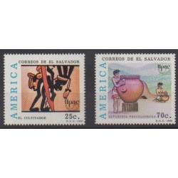Salvador - 1989 - Nb 1059/1060 - Craft