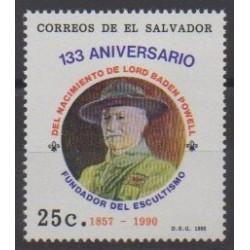 Salvador - 1990 - No 1074 - Scoutisme