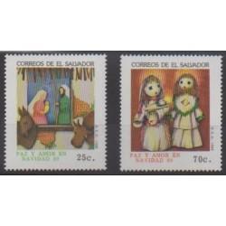 Salvador - 1989 - Nb 1072/1073 - Christmas