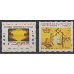 Salvador - 1990 - Nb 1088B/1088C - Science