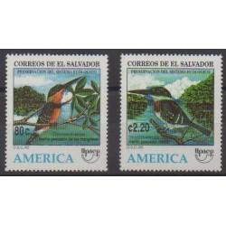 Salvador - 1995 - No 1240/1241 - Oiseaux