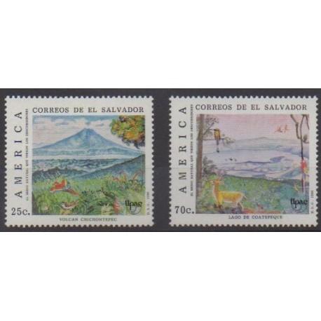 Salvador - 1990 - No 1087/1088