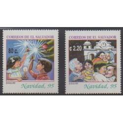 Salvador - 1995 - Nb 1244/1245 - Christmas