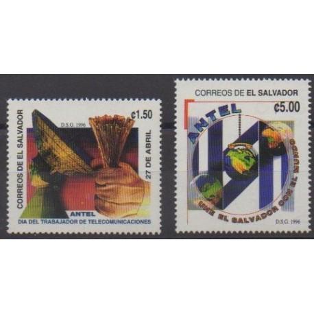 Salvador - 1996 - No 1274/1275