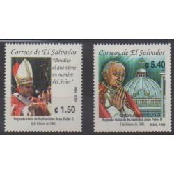 Salvador - 1996 - Nb 1258/1259 - Pope