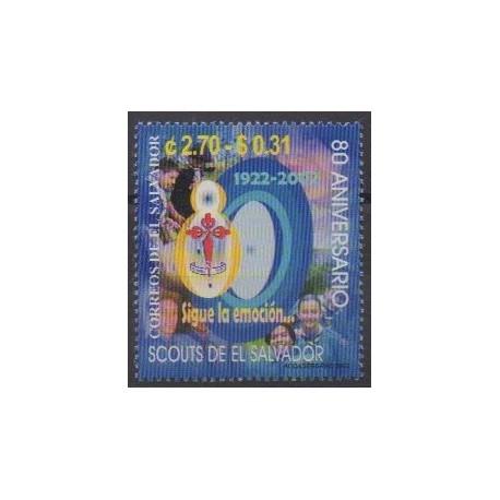 Salvador - 2002 - No 1527 - Scoutisme