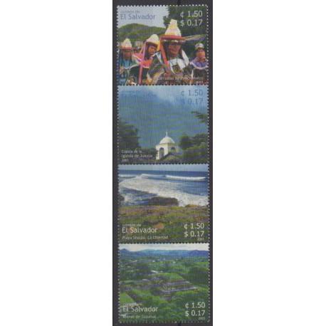 Salvador - 2003 - No 1555/1558 - Tourisme