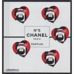 France - Blocs et feuillets - 2021 - No BF152 - Mode - Chanel n°5