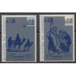 Bolivie - 2005 - No 1208/1209 - Noël