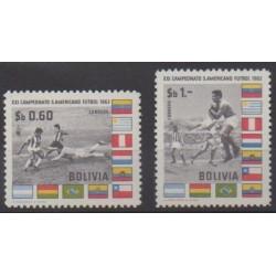 Bolivia - 1963 - Nb 436/437 - Football
