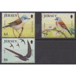 Jersey - 2011 - No 1653/1655 - Oiseaux
