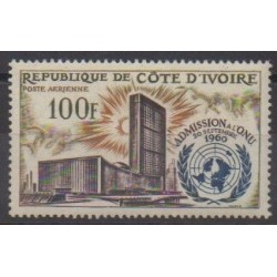 Ivory Coast - 1962 - Nb PA25 - United Nations