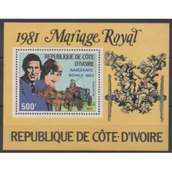 Ivory Coast - 1981 - Nb BF18 - Royalty