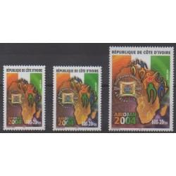 Ivory Coast - 2001 - Nb 1091A/1091C - Postal Service