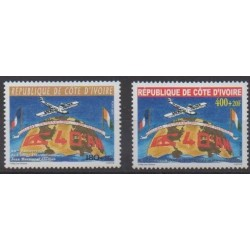 Ivory Coast - 2002 - Nb 1093/1094