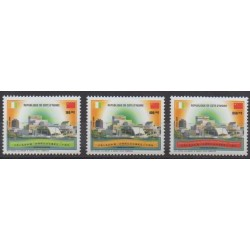 Ivory Coast - 2003 - Nb 1101/1103 - Various Historics Themes