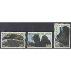 Ivory Coast - 1999 - Nb 1021/1023 - Sights