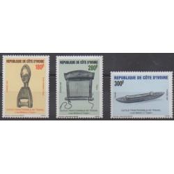 Ivory Coast - 1997 - Nb 989/991 - Craft