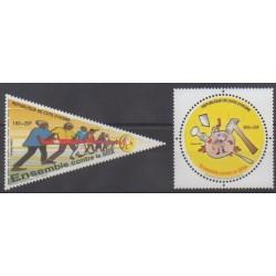 Ivory Coast - 2003 - Nb 1108/1109 - Health