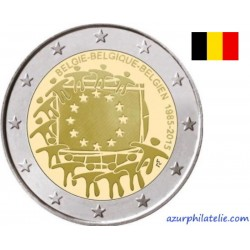 2 euro commémorative - Belgium - 2015 - 30th anniversary of the EU flag - UNC