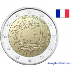 2 euro commémorative - France - 2015 - 30th anniversary of the EU flag - UNC