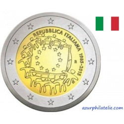 2 euro commémorative - Italy - 2015 - 30th anniversary of the EU flag - UNC