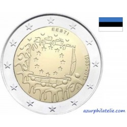 2 euro commémorative - Estonia - 2015 - 30th anniversary of the EU flag - UNC