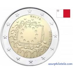 2 euro commémorative - Malta - 2015 - 30th anniversary of the EU flag - UNC